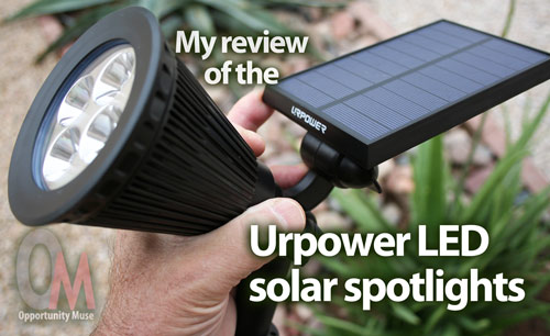 My Review Of The Ur Led Solar Spotlights