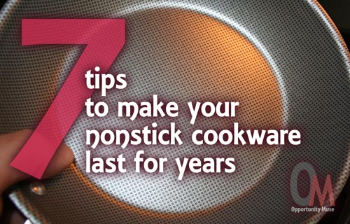 make nonstick cookware last for years