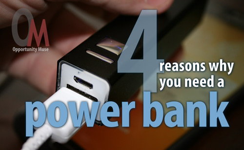 you need a power bank
