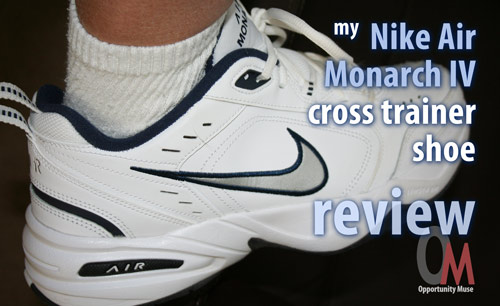 best service 7b8f6 121db Nike Air Monarch IV review