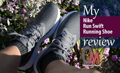 My Nike Run Swift Shoe review from a