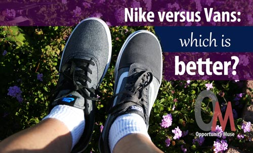 17d078b7d3a0c8 Nike versus Vans  which is better  Both casual skate sneakers are good