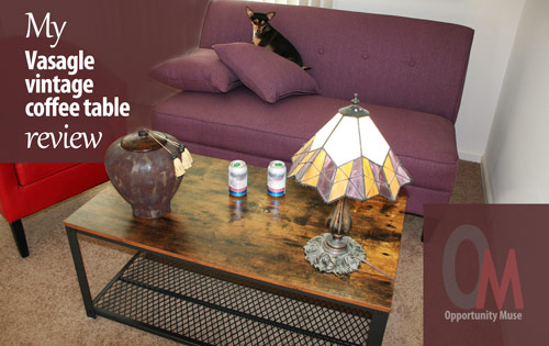 Vasagle vintage coffee table review