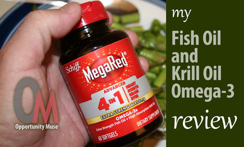 MegaRed omega-3 fish oil review