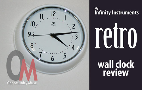 retro wall clock review